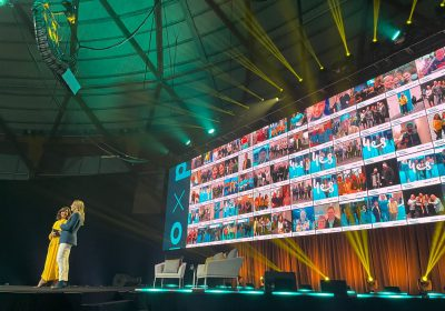 Optus Powered x Live was watched by almost 4,000 delegates